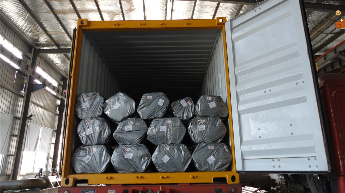 Tubes package for export